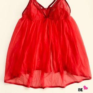 01cd3be30f Victoria s Secret Intimates   Sleepwear - Victoria s Secret Dream Angels  Mesh Babydoll